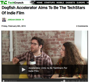 The Dogfish Accelerator Team on TechCrunch TV