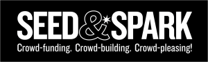 Seed and Spark logo with text black background