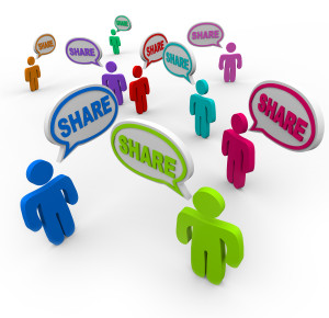 The concept of sharing is the basis for new products, services and markets