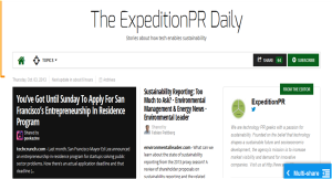 Expedition PR Daily Picture