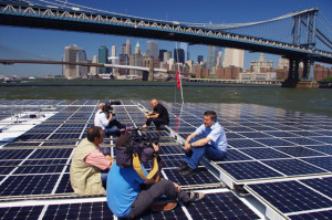 MS Tûranor PlanetSolar, in New York City this June
