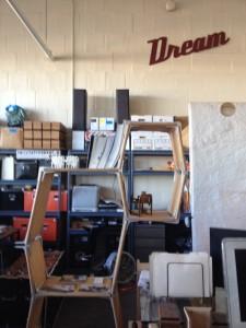 Ecosystem's Snug-It furniture at the New Lab