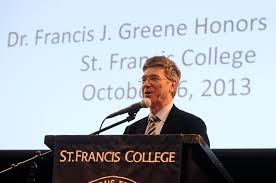 Jeffery Sachs speaks at St. Francis College in Brooklyn, NY, about ending extreme poverty. Photo: St. Francis College